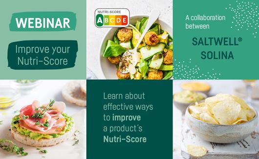 Improve Nutri-Score with salt reduction.