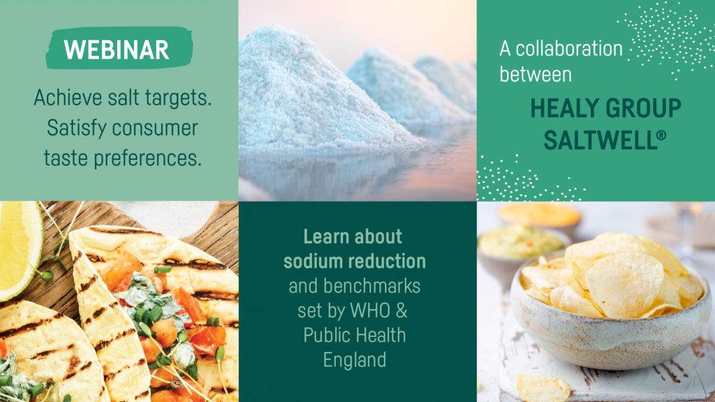 How to achieve the WHO sodium benchmarks and UK salt targets whilst satisfying consumer taste preferences.